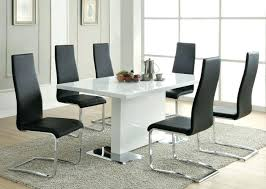 chrome dining table and chairs rovigo small glass chrome dining room table and 4 chairs set