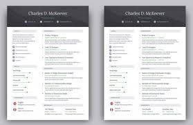 Template Creative Resume Design Templates Free Download