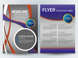 free magazine layout template flyer template design with colorful grey background free