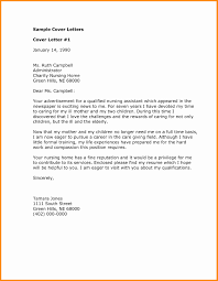 Cnaover Letter For Hospital With Little Experience Nursing