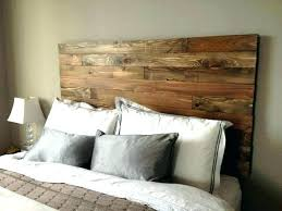 post diy panel headboard fence wood solid upholstered white wooden panel headboard