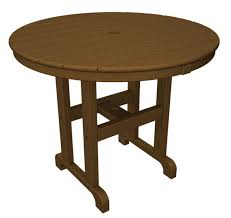polywood round 36 inch dining table rt236te dining table new