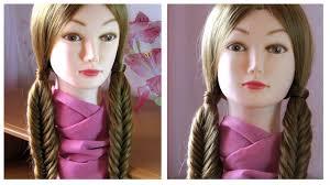Tuto Coiffure Simple Et Rapide Cheveux Long Mi Long Tresse Pis
