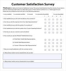 customer service satisfaction survey examples customer satisfaction survey sample rome fontanacountryinn com