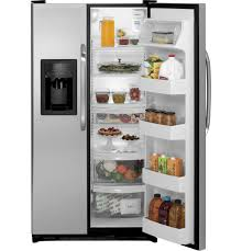 Ge Appliance Customer Service 800 Gear 219 Cu Ft Side By Side Refrigerator Gsl22jgdls Ge