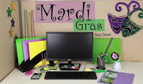 how to make office desk. Bring Mardi Gras To Your Office! How Make Office Desk