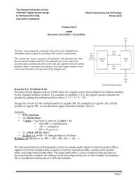 Exercise 8 1 Problem 8 16 Develop A Block Diagram And An