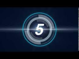 Video Intro Hd Futuristic Countdown Timer Free Youtube Intro Video