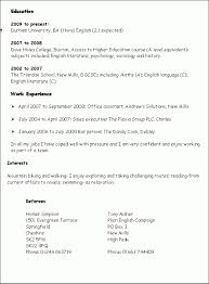 Resume Template With Skills Section Commily Com