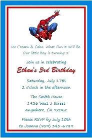 Spiderman Birthday Invitation Templates Free Spiderman Birthday Invitation Wording Salabs Pro