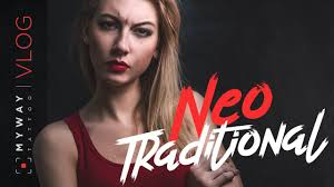 Neo Traditional стиль тату
