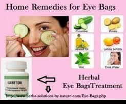 Herbal eye treatment