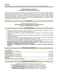 Sample Graduate School Resume Graduate School Resume Templates Hvac Cover Letter Sample Hvac 47
