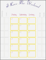 My Weekly Schedule Timetable Templates For Teachers Best Of My Weekly Schedule Template