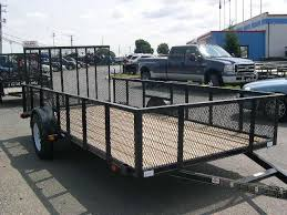 Carry-On 6.4 x 14 Landscape Utility Trailer With Mesh Sides