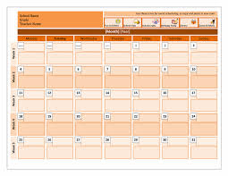 Microsoft Word Monthly Calendar Template Calendars Office Download