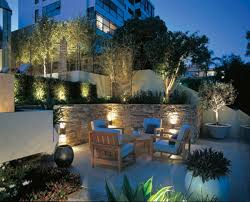 garden lighting ideas. beautifulgardenlightingwithprojectors love this my dream garden lighting ideas n