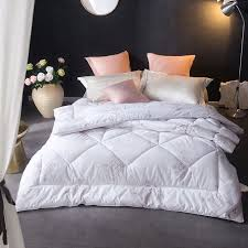 100 cotton comforters with cotton filling. Brilliant Comforters White 100 Cotton Cover Warm Soft Feather Velvet Filling Winter Comforter  Bedding Blanket Duvets Sets In 100 Comforters With Filling