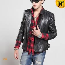 mens leather er jacket cw850231 cwmalls com