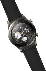 huawei smartwatch black. while several fitness bands and watches have usb 2.0 charging ports, watch 2 has a charger that can only work with the device. huawei smartwatch black