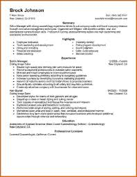 Cosmetology Resume 100 How To Write Cosmetology Resume Lease Template 58