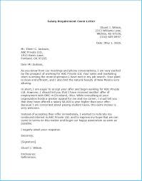 Inspiring Salary Requirements Cover Letter As An Extra Ideas