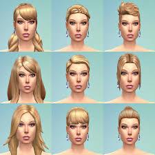 Demo Holčičí účesy Jarkad Sims 4 Blog