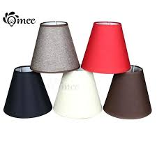 cone lamp shades handmade linen lamp shade for wall light rustic bedroom bedside mini table lamp cone lamp shades