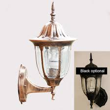 12 pieces outdoor wall lamp bronze antique classical outdoor wall sconce waterproof copper wall light outdoor