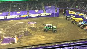 Grave Digger Free Style At Prudential Center Youtube