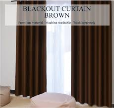 brown blackout curtains. SOL HOME ® Hooks 99% Coverage Blackout Curtains - Solid Brown ShopOnlineLah.com