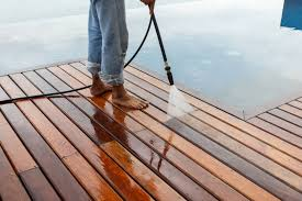 power washing deck. Exellent Deck Man Pressure Washing Wooden Deck With Power Washing Deck I
