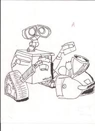 Wall E Drawing by gparagas4 on DeviantArt