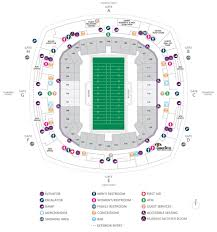 Superdome Seating Chart Concert Seating Chart
