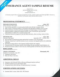 Extraordinary Resume Sample Entry Level Insurance About Resume For