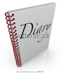 Spiral Bound Notebook Lined Paper Word Stock Illustration