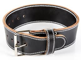 leather lifting belt medium