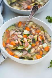 slow cooker leftover ham bone soup
