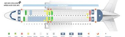 Airbus A320 Seating Chart Air Canada Air New Zealand Fleet Airbus A320 200 Details And Pictures