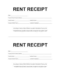 49 Printable Rent Receipts Free Templates Template Lab