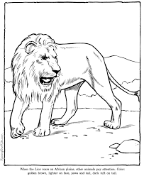 Small Picture Lion coloring pages Zoo animals 006