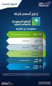 "Saudi Exchange   تداول السعودية on Twitter: ""سيتم إدراج أسهم شركة #أرامكو  السعودية يوم الأربعاء القادم 2019/12/11م في #السوق_الرئيسية  https://t.co/xU2n9CIpgf… """