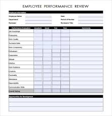 Free 7 Performance Evaluation In Samples Templates Examples