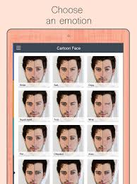 cartoon face animation creator on the app