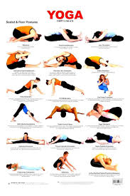 Beginner Yoga Poses Chart Work Out Picture Media Yoga