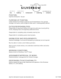 Examples Of Resumes Resume Templates Restaurant Cashier Job