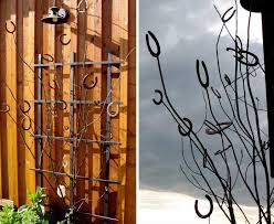 Small Picture These Metal Garden Trellises are Beautiful With or Without Plants