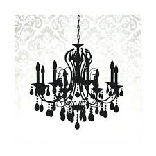 cool black and white chandelier chandelier silhouette metallic damask backdrop canvas print black and white striped