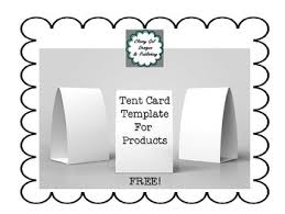 Free Tent Card Template By Classy Gal Designs And Publishing