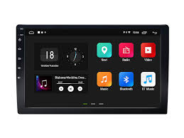 10.1 Inch Double Din Car Navigation HD Display with <b>Android 8.1</b> ...